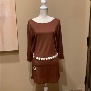 Great Swim Coverup or Dress with Lucite Belt